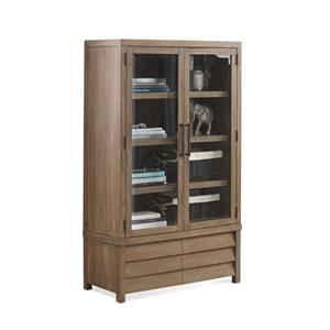 Riverside Furniture Mirabelle Cabinet Bookcase