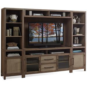 Riverside Furniture Mirabelle Entertainment Wall Unit