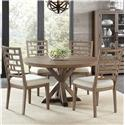 Riverside Furniture Mirabelle 5 Piece Table and Chair Set - Item Number: 26251+4x5
