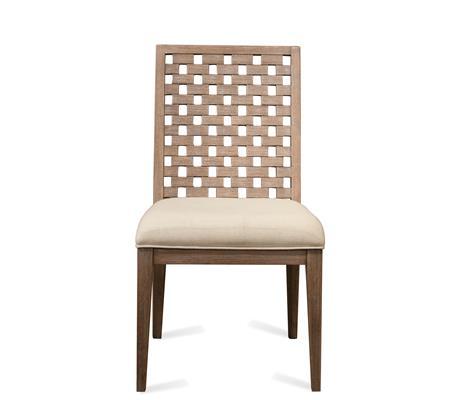 Riverside Furniture Mirabelle Block Back Upholstered Side Chair - Item Number: 26259