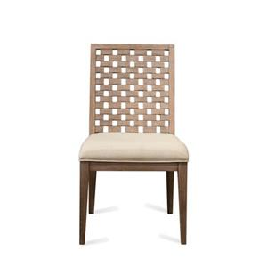 Riverside Furniture Mirabelle Block Back Upholstered Side Chair