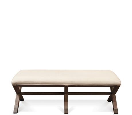 Riverside Furniture Mirabelle 50-Inch Upholstered Bed Bench - Item Number: 26267