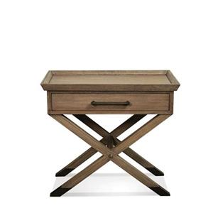 Riverside Furniture Mirabelle Leg Nightstand