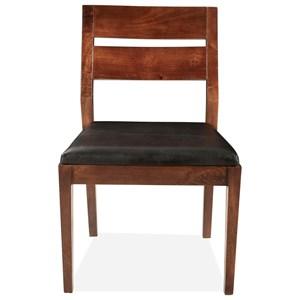Slt-Bk Uph Side Chair 2in