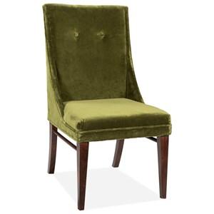 Ivy Velvet Side Chair 2in