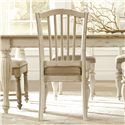 Riverside Furniture Mix-N-Match Chairs Upholstered Dining Side Chair with Slat Back