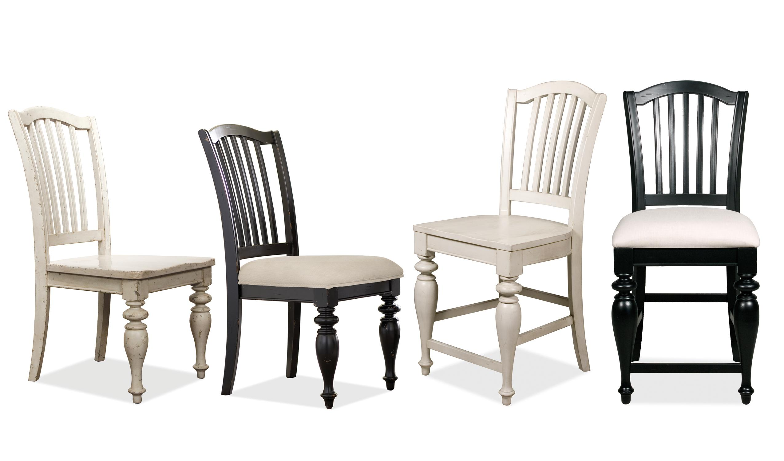 Riverside Furniture Mix N Match Chairs Counter Height