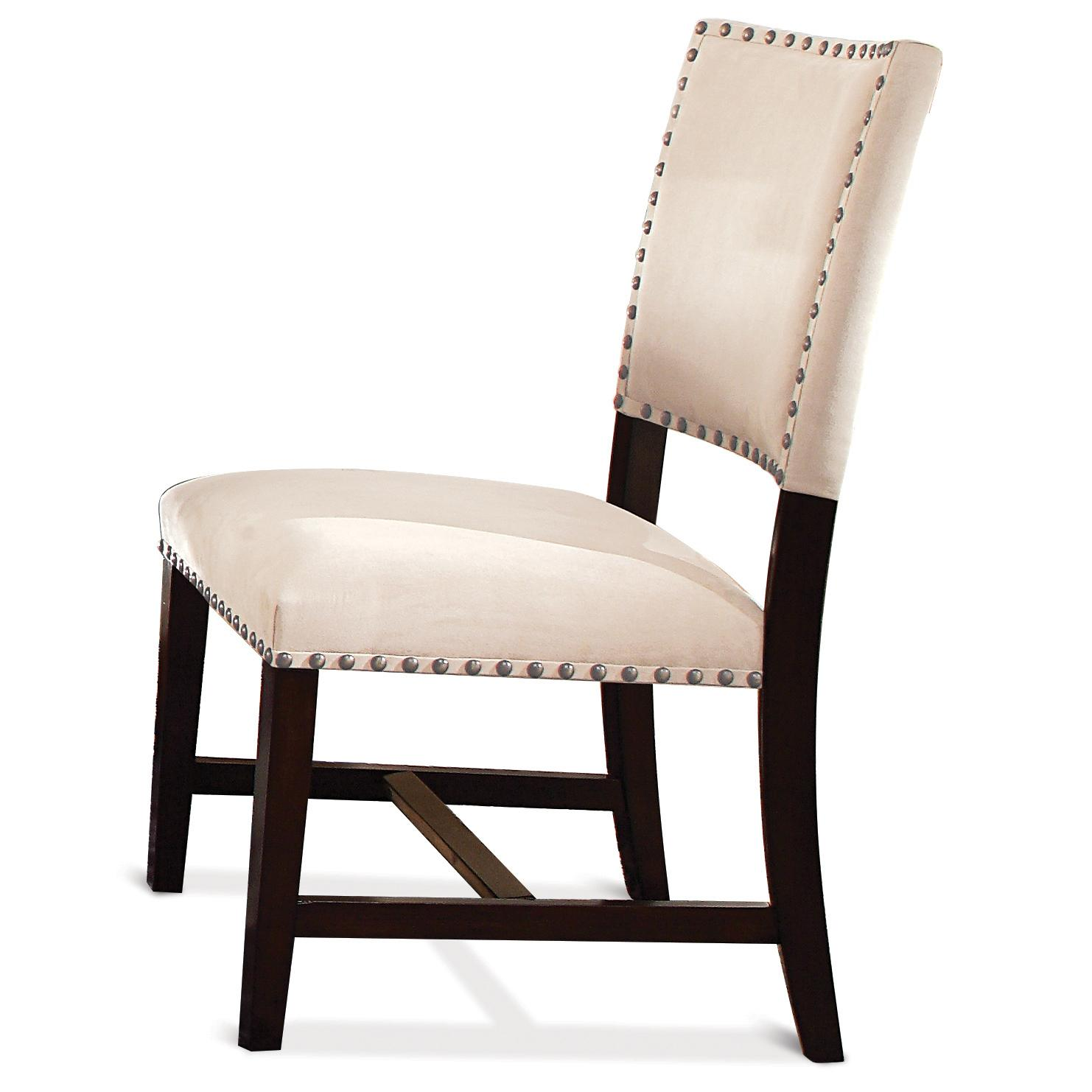 Riverside Furniture Mix-N-Match Chairs Micro-Fiber Uph Parson Chair - Item Number: 36664