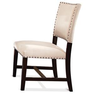 Riverside Furniture Mix-N-Match Chairs Micro-Fiber Uph Parson Chair