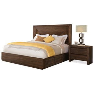 Riverside Furniture Modern Gatherings King Bedroom Group 1