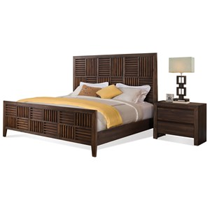 Riverside Furniture Modern Gatherings Queen Bedroom Group 3