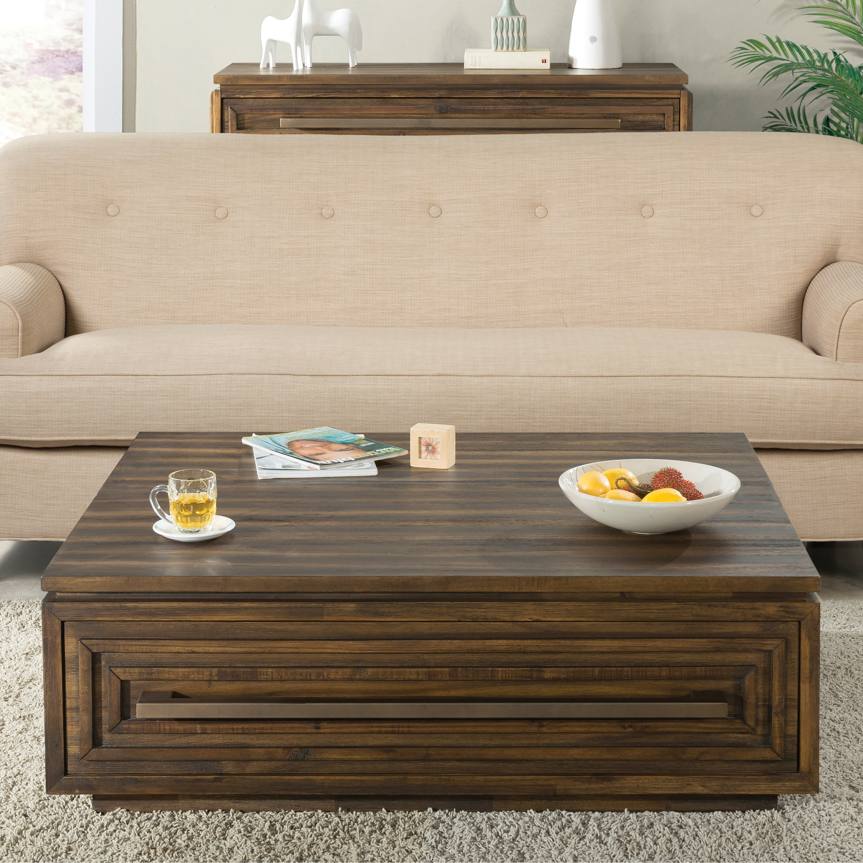 Riverside Furniture Modern Gatherings Contemporary Coffee
