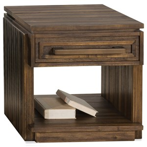 Riverside Furniture Modern Gatherings Side Table