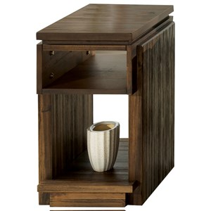 Riverside Furniture Modern Gatherings Chairside Table