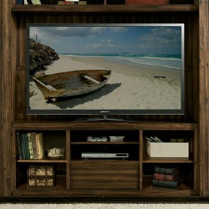 Riverside Furniture Modern Gatherings Entertainment Console