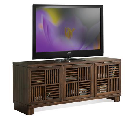 Riverside Furniture Modern Gatherings Open Slat TV Console - Item Number: 15341