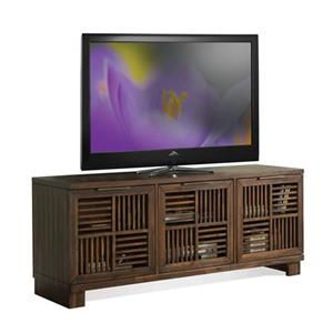 Riverside Furniture Modern Gatherings Open Slat TV Console