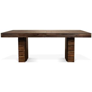 Riverside Furniture Modern Gatherings Rectangular Dining Table