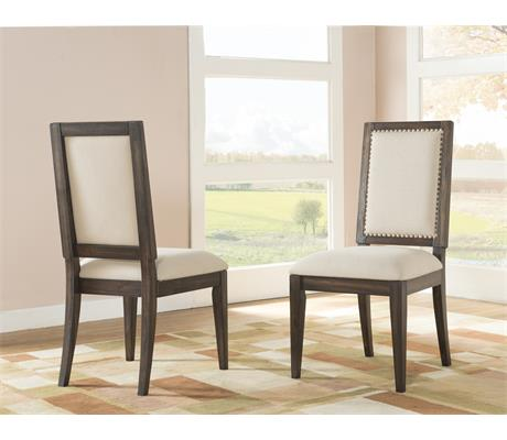 Riverside Furniture Modern Gatherings Side Chair Uph Seat 2in - Item Number: 15358
