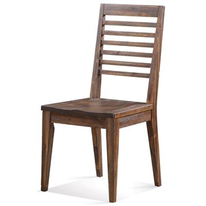Riverside Furniture Modern Gatherings Slat Back Side Chair