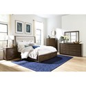 Riverside Furniture Monterey Queen Upholstered Storage Bedroom Group - Item Number: 3940 Q Bedroom Group 1