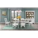 Riverside Furniture Myra Formal Dining Room Group - Item Number: 5930 Dining Room Group 4