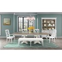 Riverside Furniture Myra Formal Dining Room Group - Item Number: 5930 Dining Room Group 5