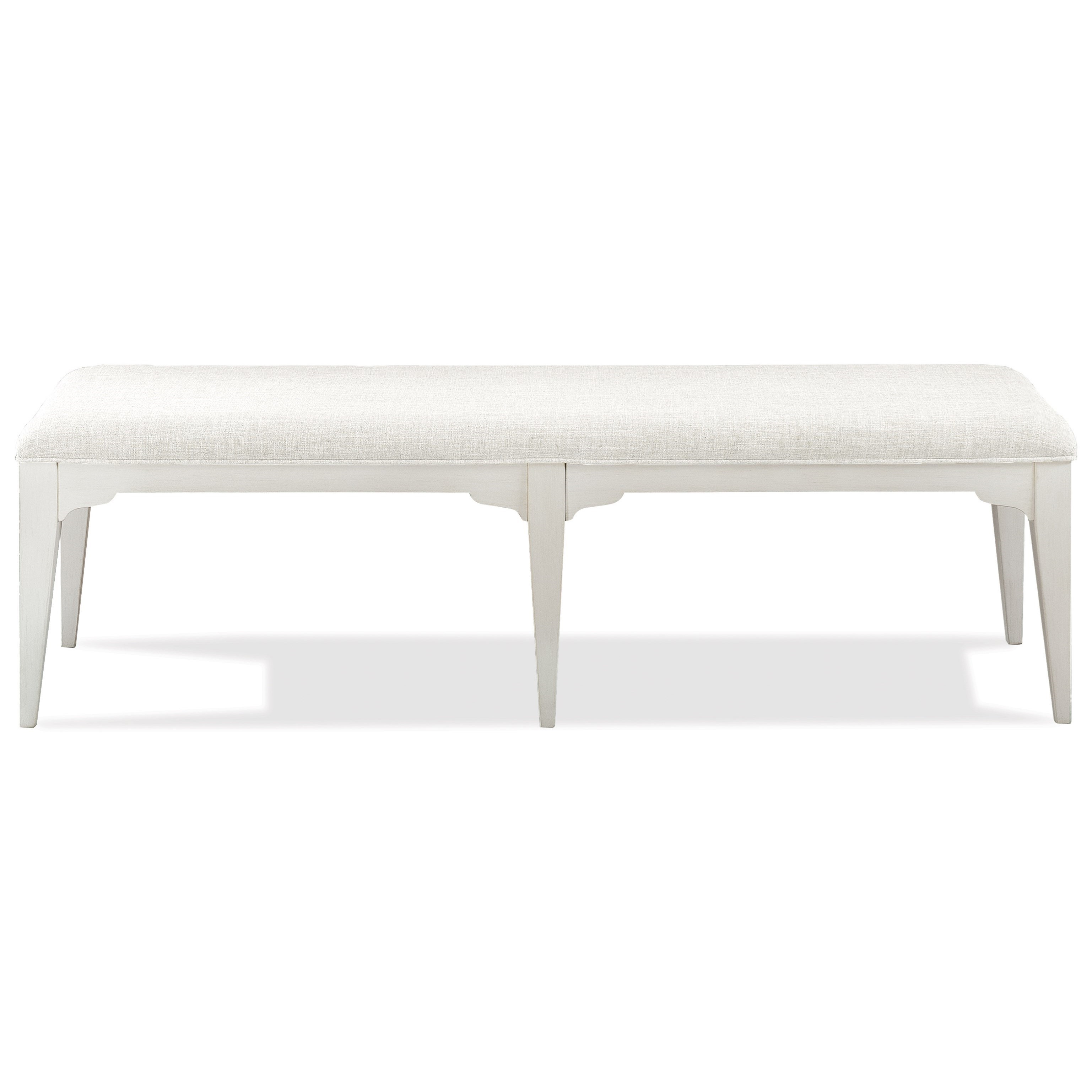 Riverside Furniture Myra 59359 Upholstered Dining Bench