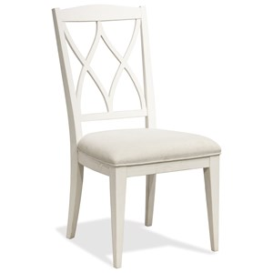 Riverside Furniture Myra XX-Back Upholstered Side Chair