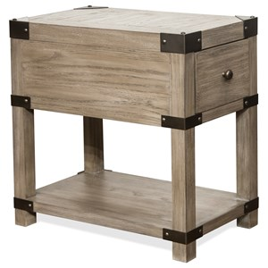 Riverside Furniture Myra Chairside Table
