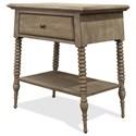 Riverside Furniture Myra 1-Drawer Nightstand - Item Number: 59468
