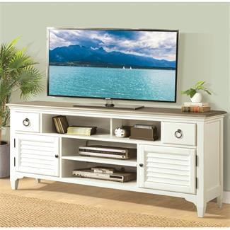 "Riverside Furniture Myra 74"" TV stand - Item Number: 59532"