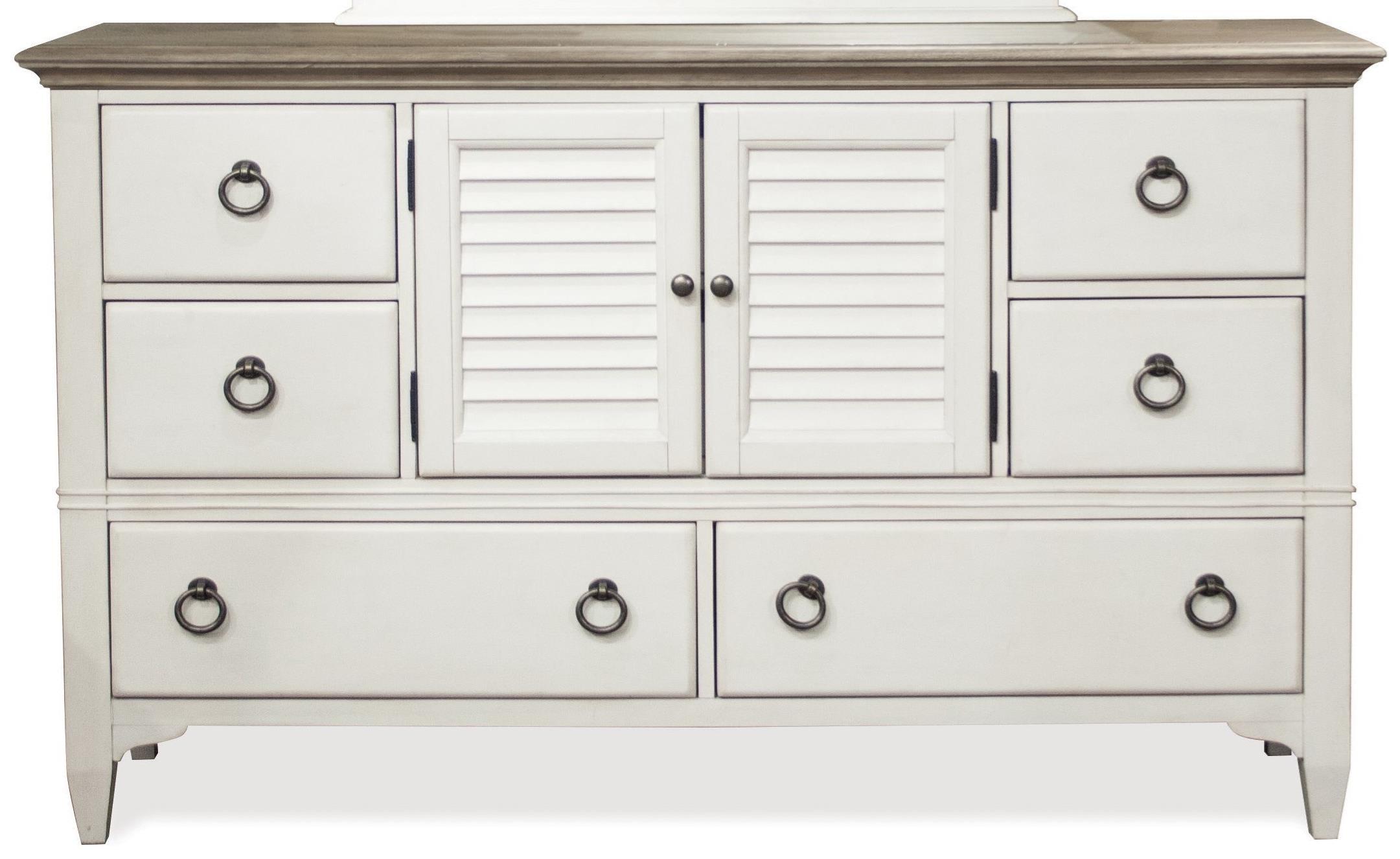 Myra Door Dresser by Riverside Furniture at Johnny Janosik