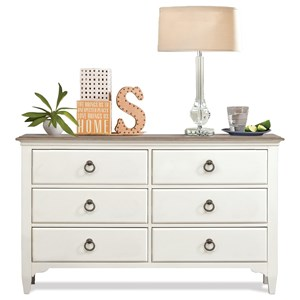 6-Drawer Small Dresser