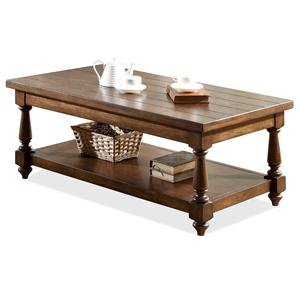 Riverside Furniture Newburgh Rectangular Cocktail Table
