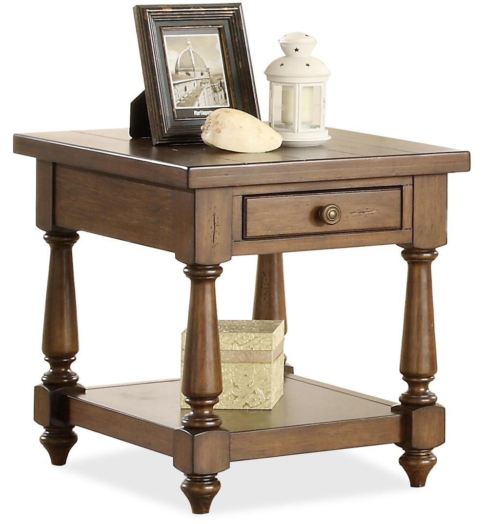 Riverside Furniture Newburgh End Table  - Item Number: 37409
