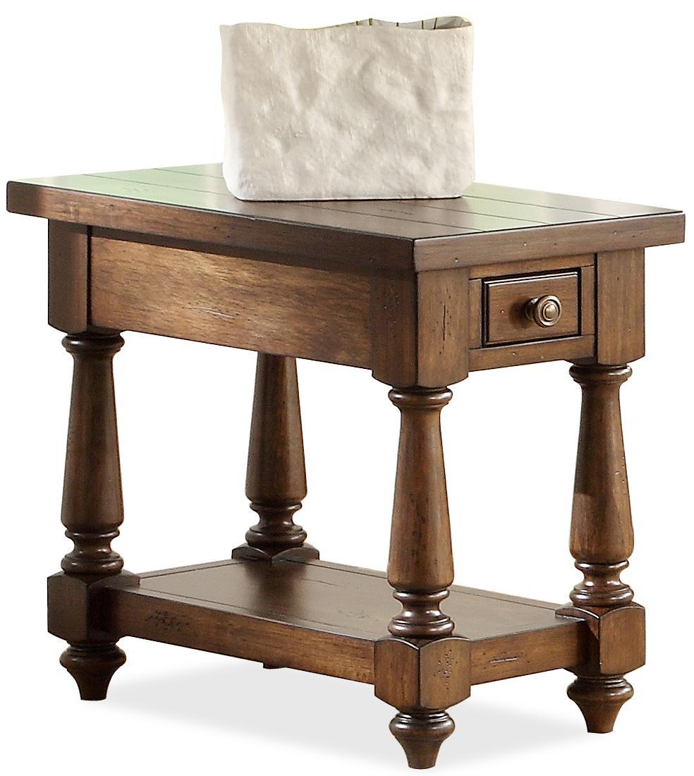 Riverside Furniture Newburgh Chairside Table  - Item Number: 37412
