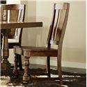 Riverside Furniture Newburgh Alder Hardwood Solid Side Chair - 37457