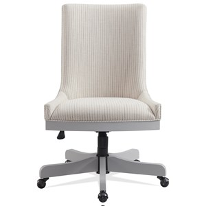 Upholstered Adjustable Desk Chair