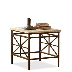 Riverside Furniture Palo Alto Rectangular End Table