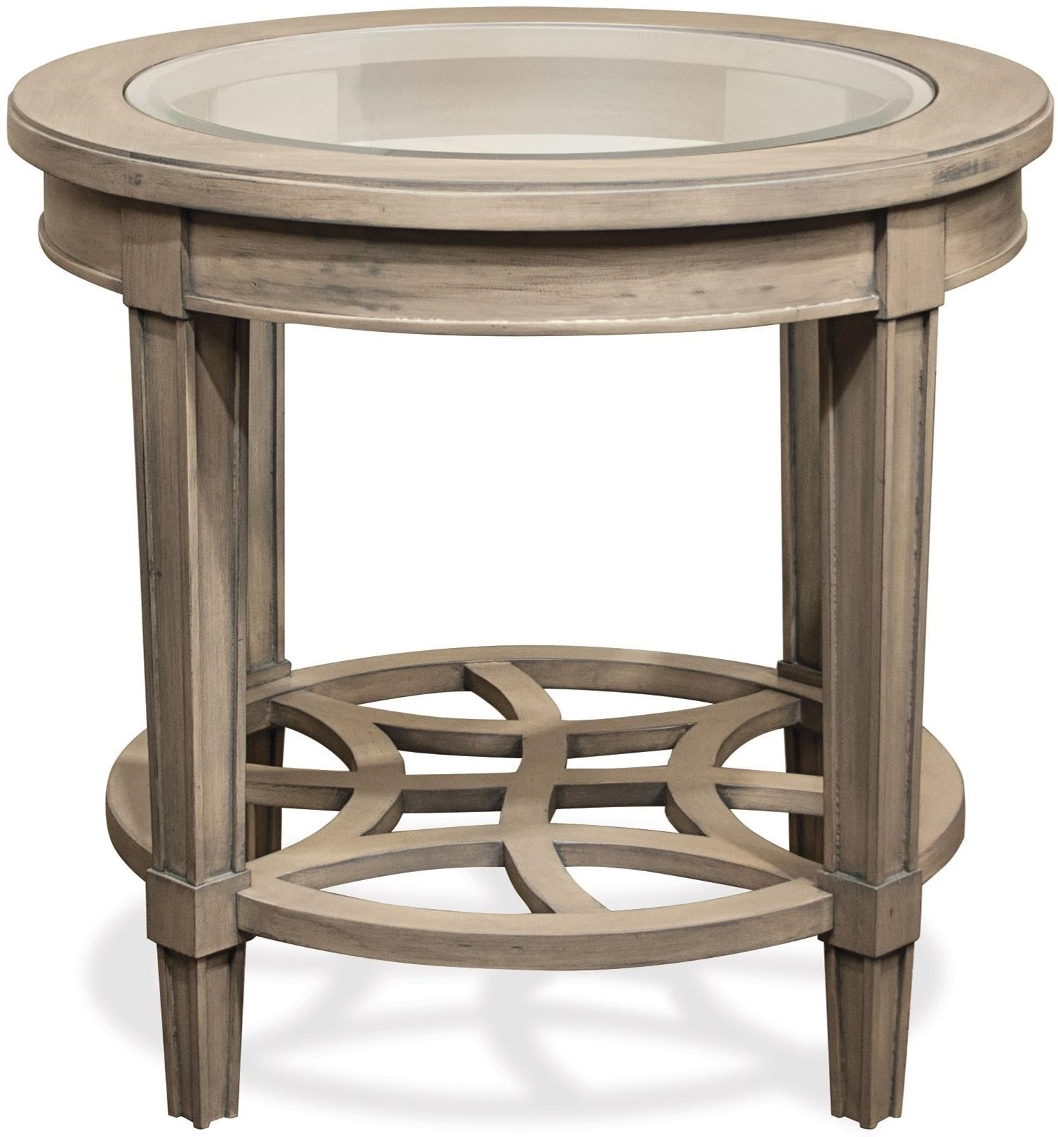 Riverside Furniture Parkdale Round End Table - Item Number: 15508