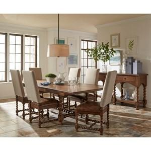 Riverside Furniture Pembroke Formal Dining Room Group