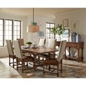 Riverside Furniture Pembroke Formal Dining Room Group  - Item Number: 17000 Dining Room Group 1