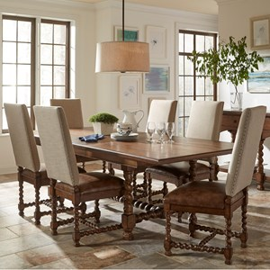Riverside Furniture Pembroke 7 Piece Table and Chair Set