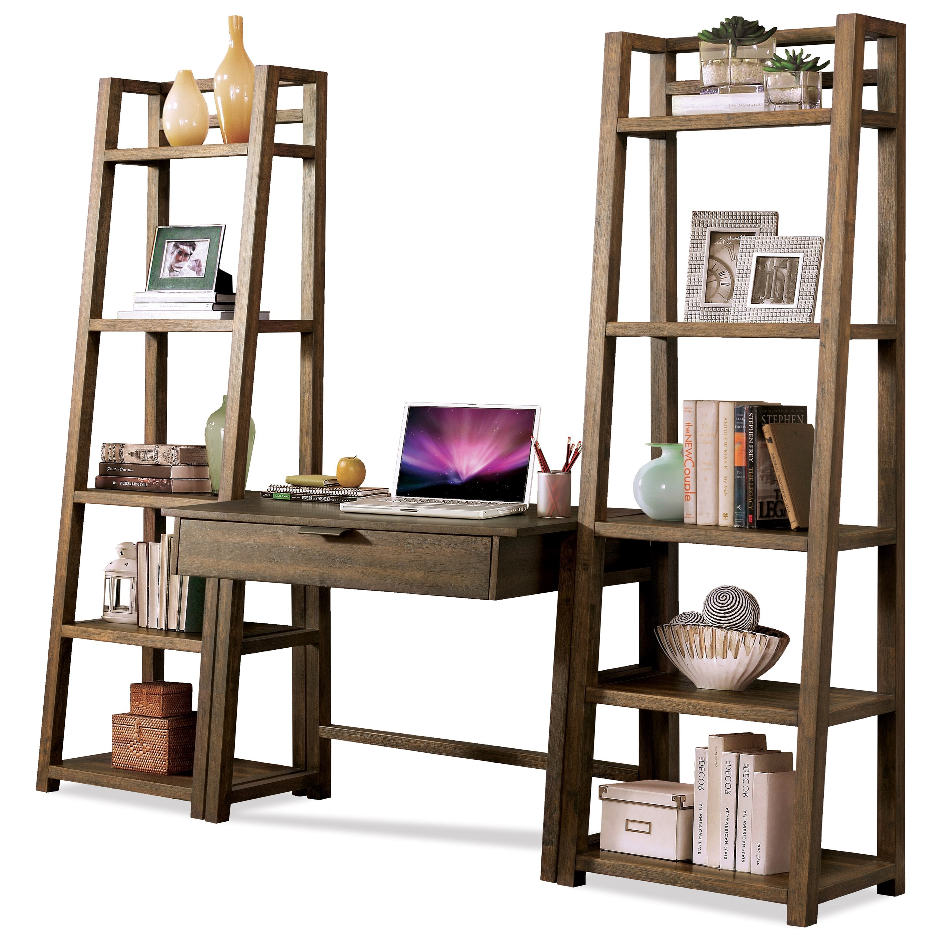 Riverside Furniture Perspectives Office Wall Setup - Item Number: 28032+2x8