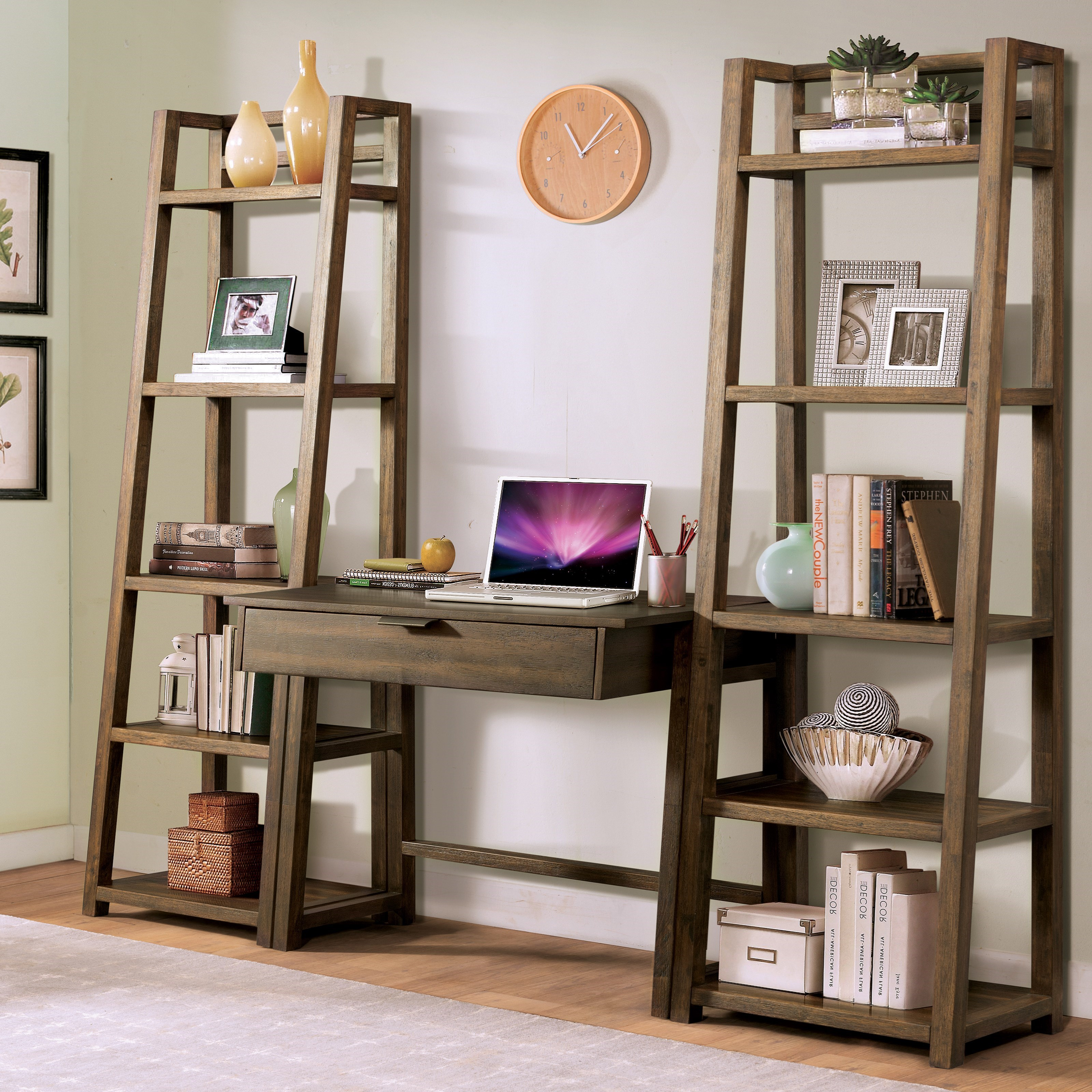 Riverside Furniture Perspectives Office Wall Setup With