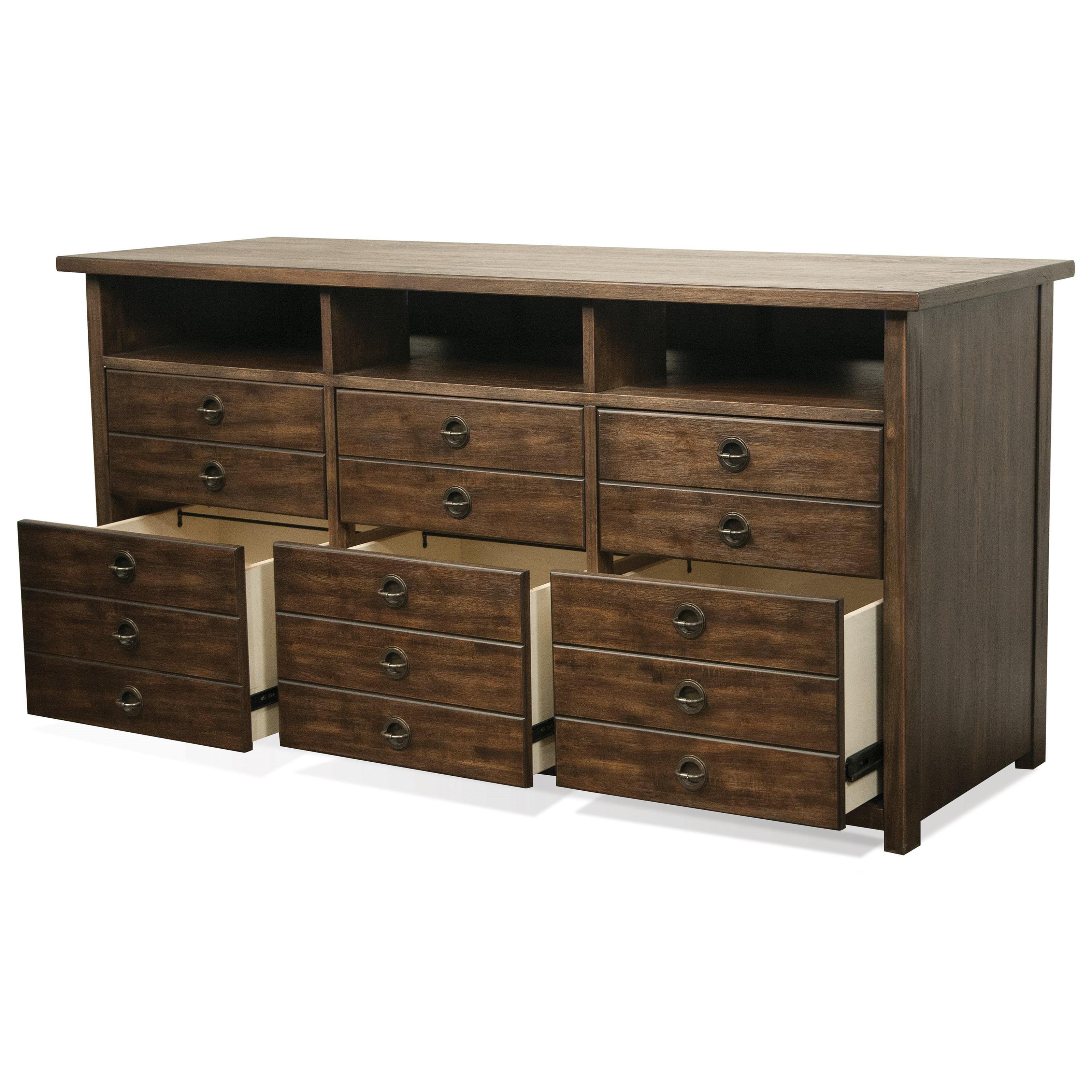 Riverside Furniture Perspectives 6 Drawer Entertanment File Cabinet Jacksonville Furniture