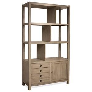 Riverside Furniture Perspectives Bookcase Etagere