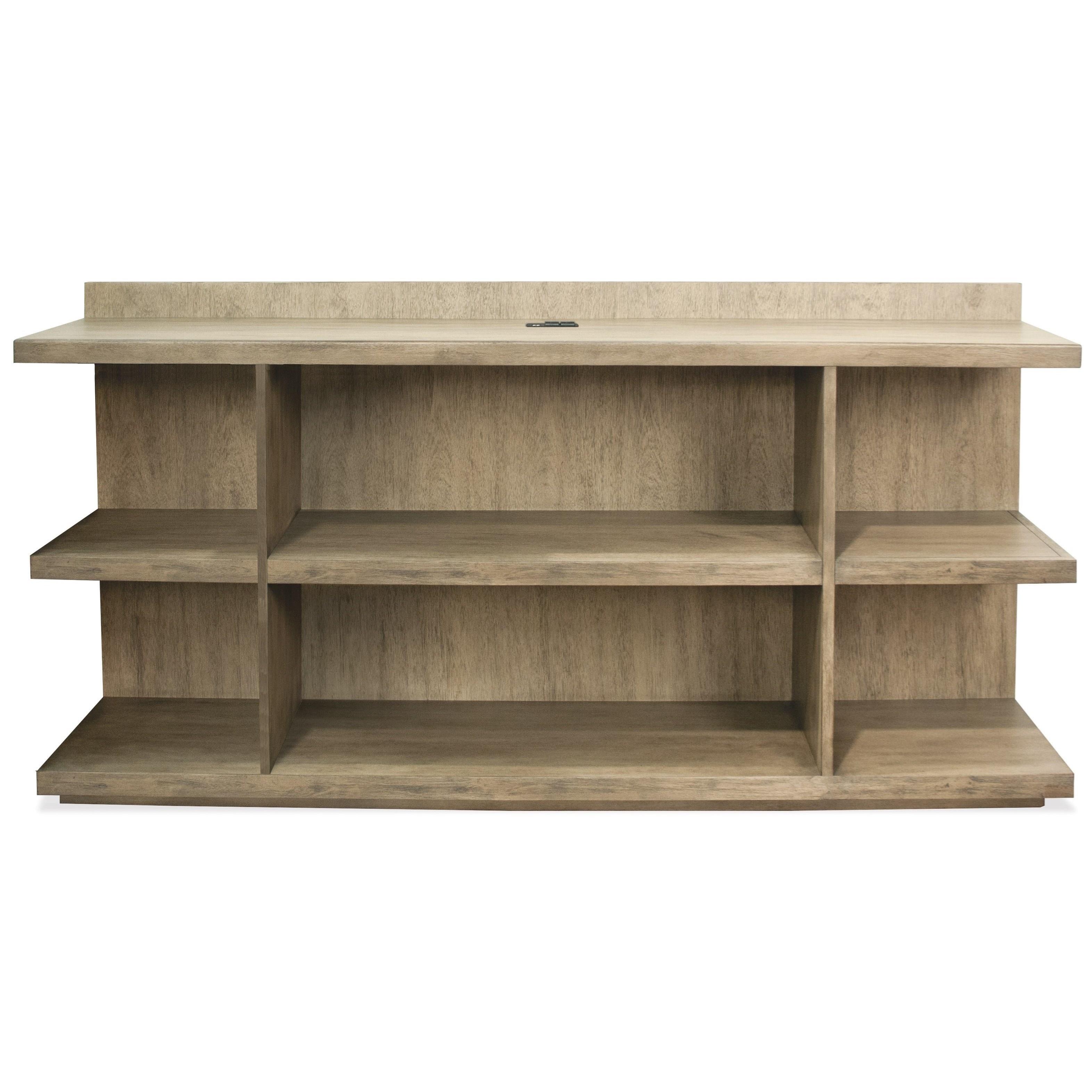 Riverside Furniture Perspectives Peninsula Bookcase Desk