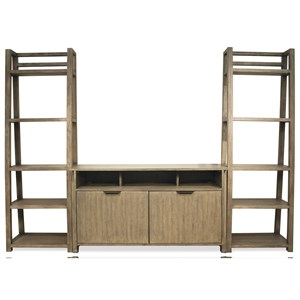 Riverside Furniture Perspectives Entertainment Wall Unit